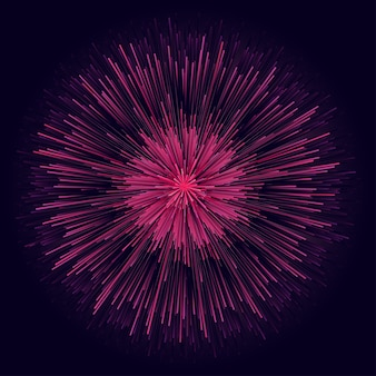 Design starburst circle. raggi circolari