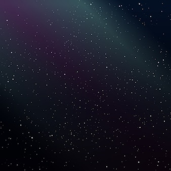 Sfondo galassia cielo stellato