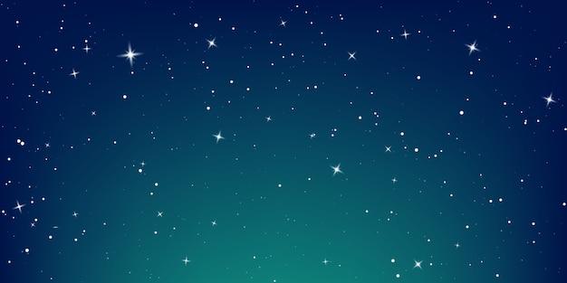 Illustrazione del cielo stellato