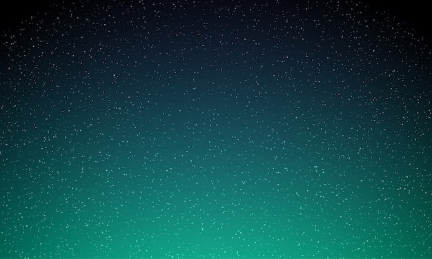 Stelle nel cielo notturno, luce stellata, sfondo spazio galassia. aurora aurora boreale bagliore, neon aurora magico splendore sfondo