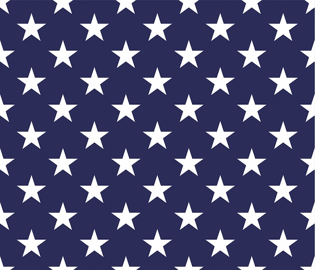 Seamless pattern di stelle