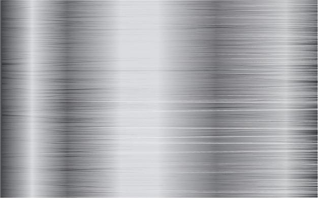 Acciaio, sfondo vettoriale di ferro