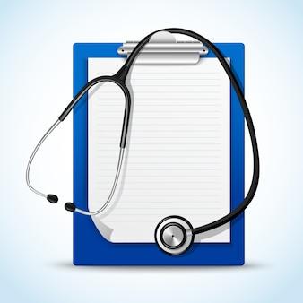 Stetoscopio e note