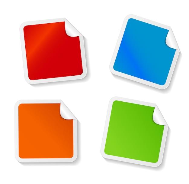 Set di adesivi per la tua illustrazione aziendale
