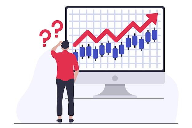 Confusione del mercato azionario