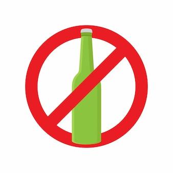 Smetti di bere alcolici