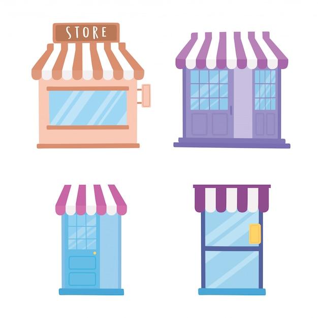 Store building set