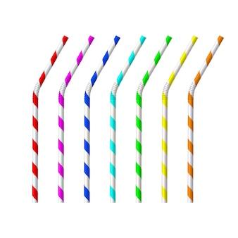 Set di accessori per tubi per bere a strisce di paglia