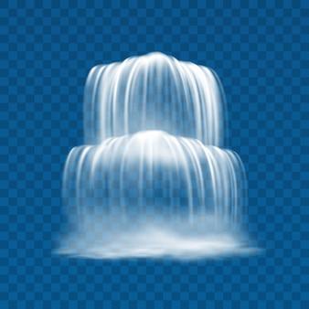 Cascata in streaming con rapide waterscape
