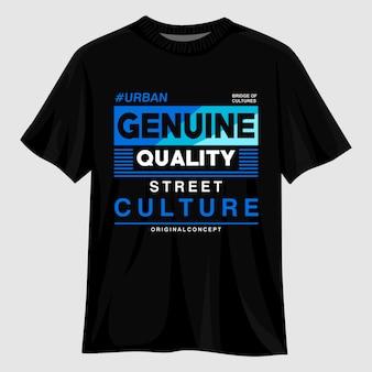 Design della maglietta tipografia della cultura di strada
