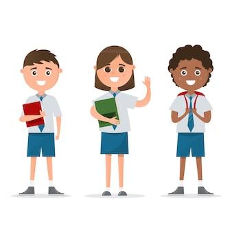 Studenti di carattere diverso