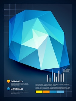 Design infografico elegante