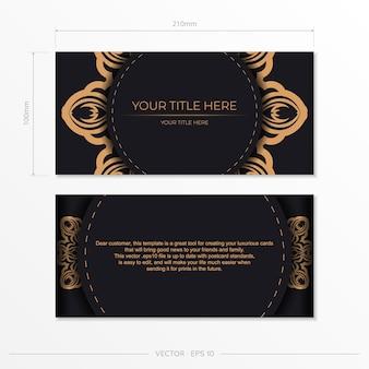 Elegante lettering modelli greci elegante vector pronto stampa colore nero cartolina design