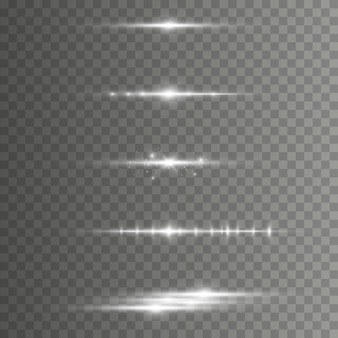 Elegante effetto di luce. fasci laser astratti di luce.