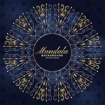 Elegante arte mandala nel design premium