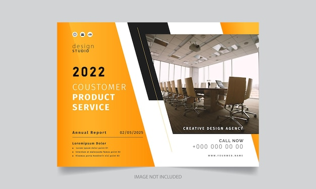 Modello di progettazione brochure creativa moderna elegante
