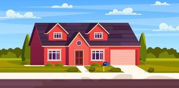 Casa suburbana, villetta residenziale,