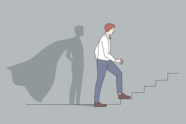 Concetto di leadership di opportunità di successo