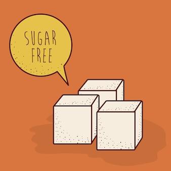 Design del prodotto senza zucchero
