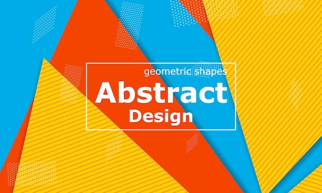 Estate sfondo astratto. geometrico. carta da parati colorata luminosa. progettazione materiale.