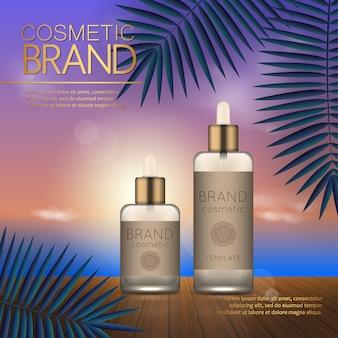 Estate modello di design cosmetico