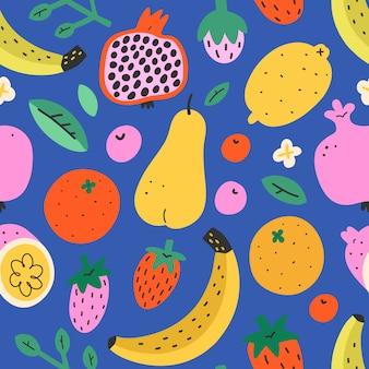 Modello di frutta estiva