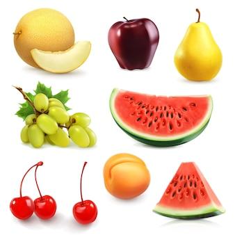 Set di frutta estiva