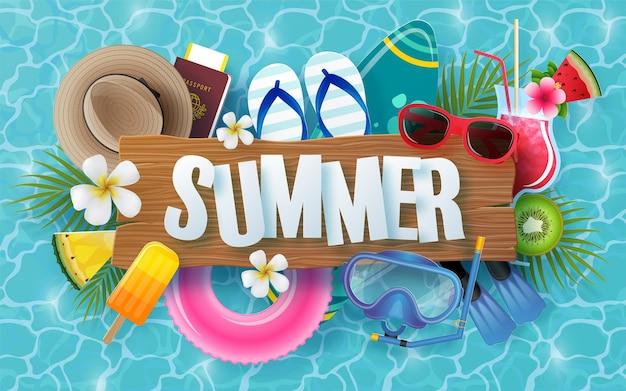 Design per le vacanze estive
