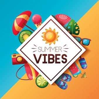 Vacanze estive vibrazioni