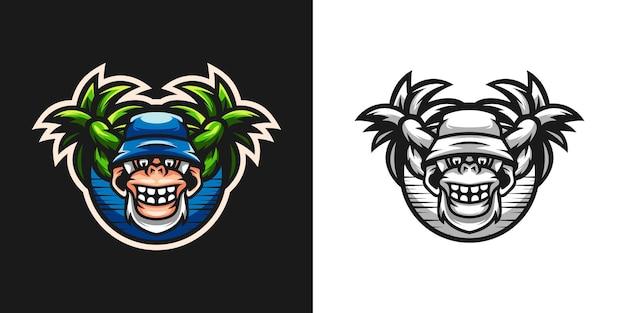 Estate yeti mascot bundle design