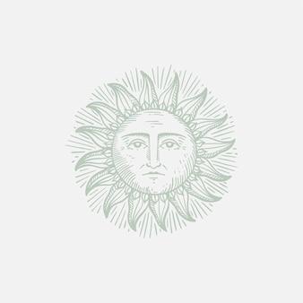Illustrazione del sole