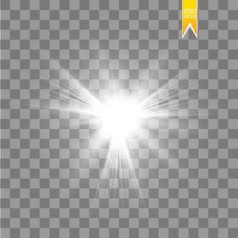Sole isolato su sfondo trasparente