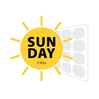 Pannello solare buona giornata di sole