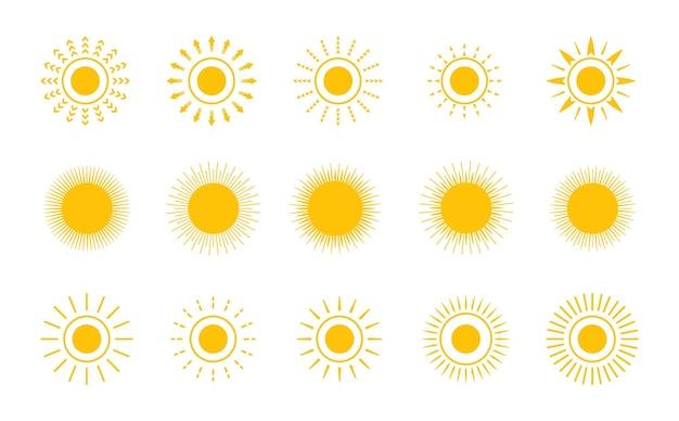 Simbolo semplice del sole
