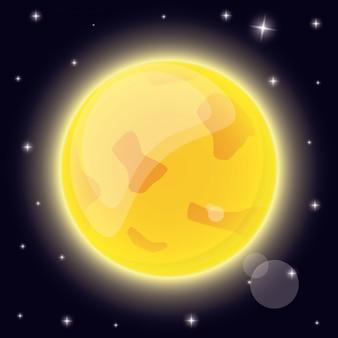 Spazio del sistema solare solare
