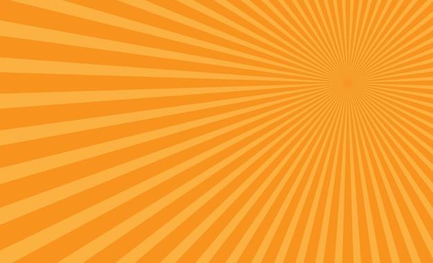 Vettore di sfondo giallo sole