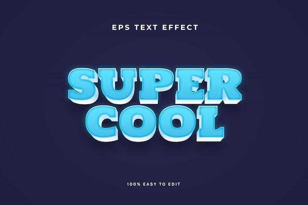 Effetto di testo super cool