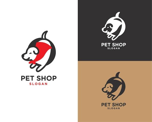 Logo del negozio di animali super dog super