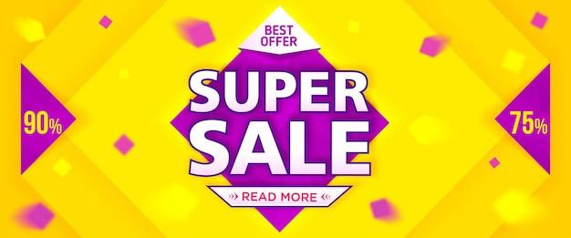 Banner super vendita sale