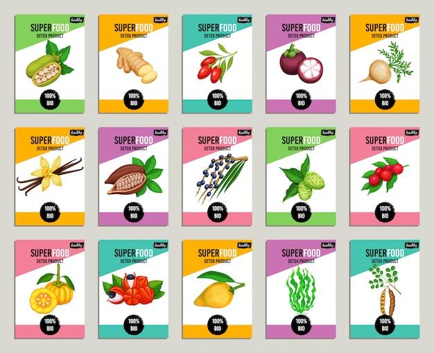 Set di superfood