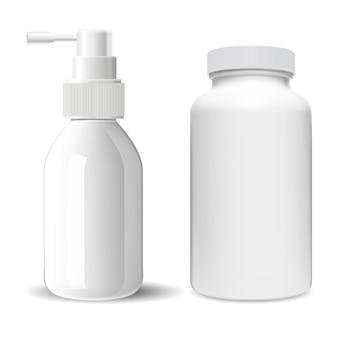 Bottiglia di pillola supplementare