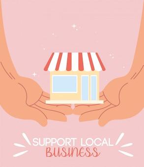 Supportare le attività commerciali locali e le loro vendite