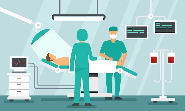 Chirurghi che operano