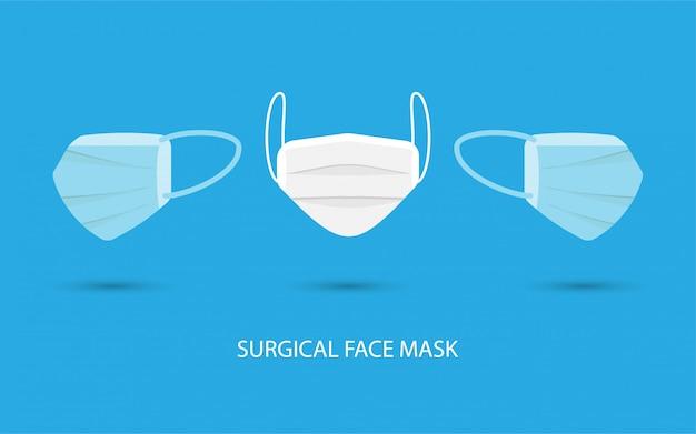Maschera viso chirurgica