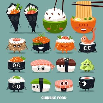 Personaggio raccolta sushi