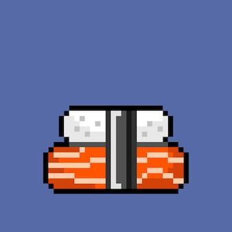 Un sushi in stile pixel art
