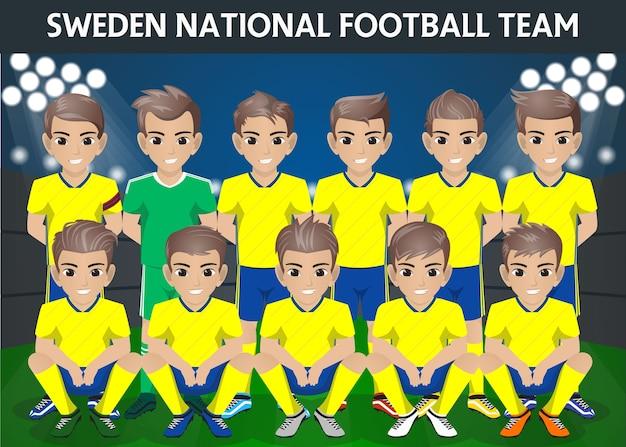 Squadra nazionale di calcio della svezia