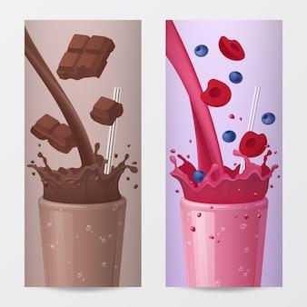 Illustrazioni di bevanda dolce
