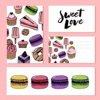 Modello di amore dolce