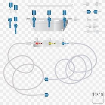 Sistema per infusioni endovenose Vettore Premium